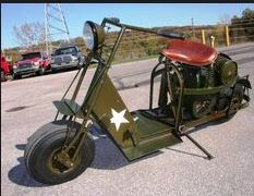 Old Military Scooter